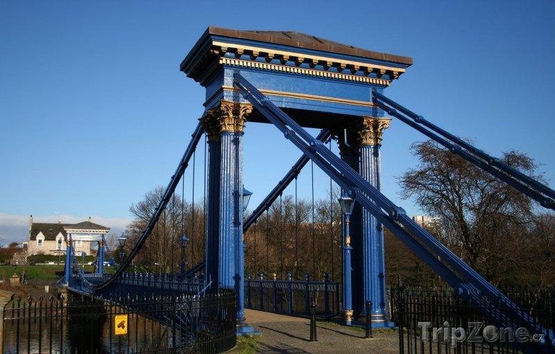 Fotka, Foto St. Andrews Bridge (Glasgow, Velká Británie)