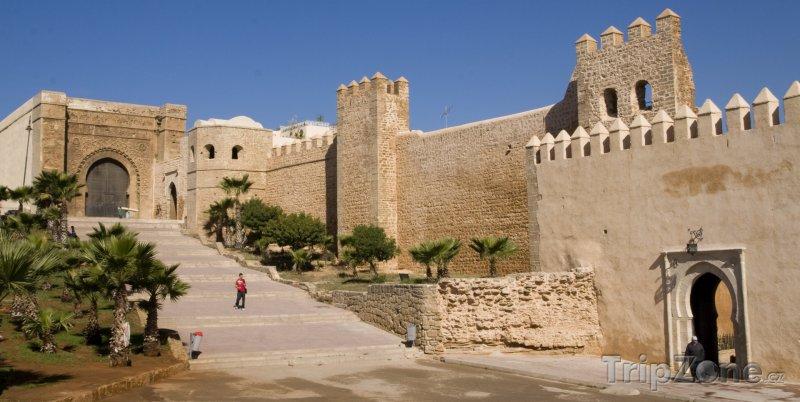 Fotka, Foto Stará část města (Rabat, Maroko)