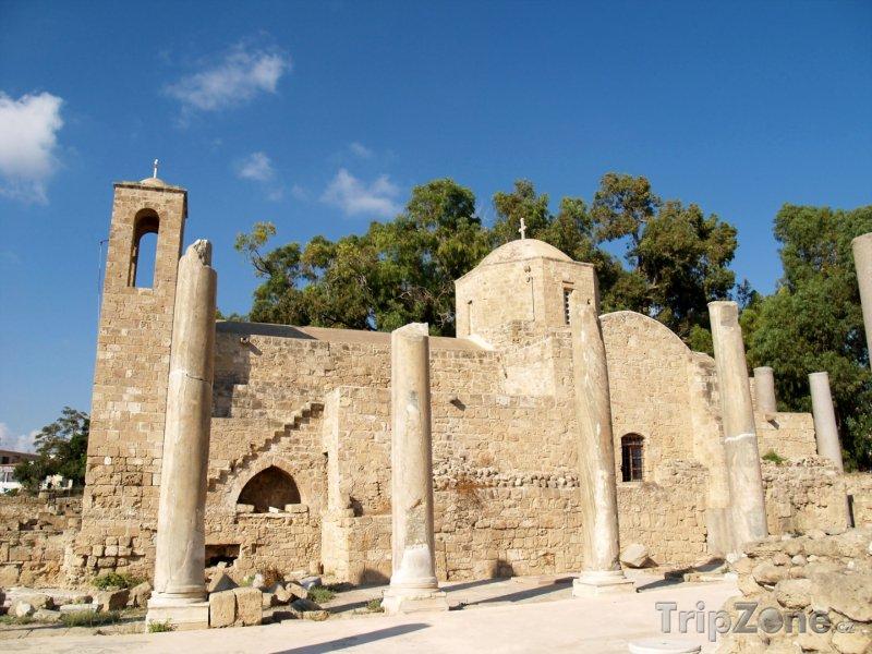 Fotka, Foto Starověká kaple (Pafos, Kypr)