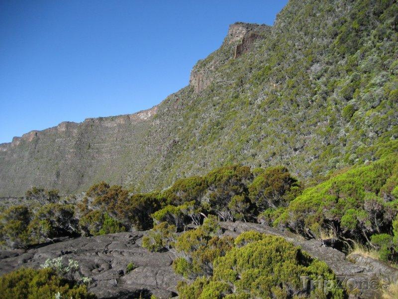 Fotka, Foto Štít vulkánu Piton de la Fournaise (Réunion)