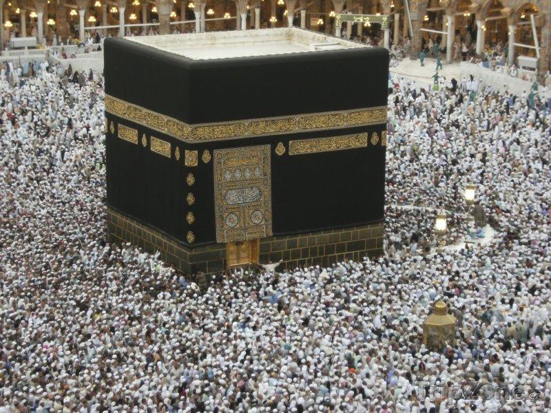 Fotka, Foto Svatyně Ka'ba ve Velké mešitě (Saúdská Arábie)