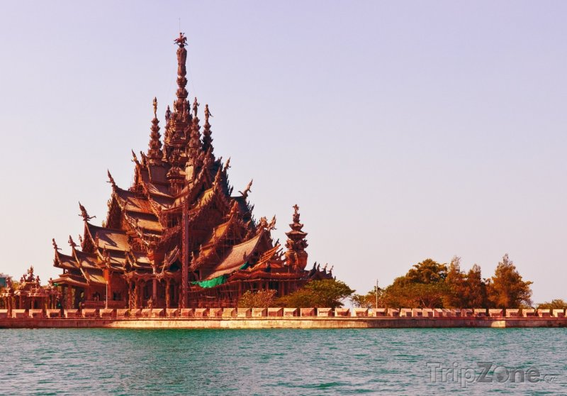 Fotka, Foto Svatyně Pravdy (Pattaya, Thajsko)