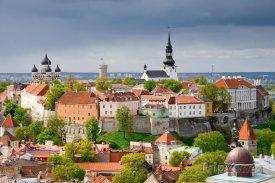 Tallinn, pohled na město