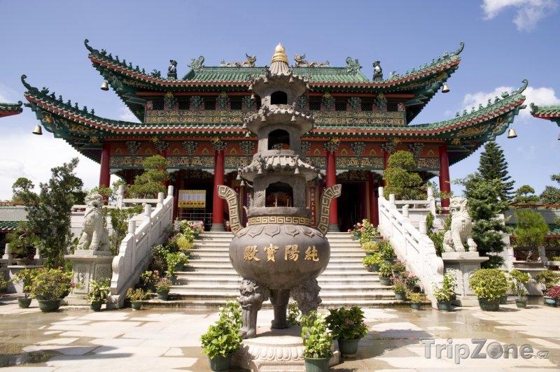 Fotka, Foto Taoistický chrám (Hongkong)
