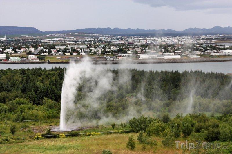 Fotka, Foto Termální gejzír (Reykjavík, Island)