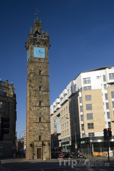 Fotka, Foto Tolbooth Steeple (Glasgow, Velká Británie)