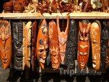 Tradiční bahamské masky