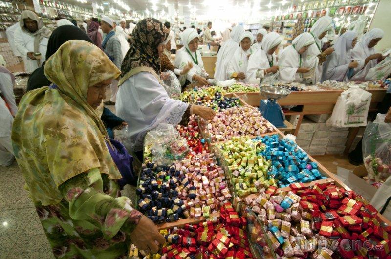 Fotka, Foto Trh se sladkostmi (Saúdská Arábie)