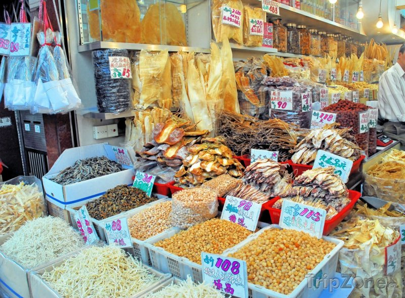 Fotka, Foto Tržiště sušených ryb (Hongkong)