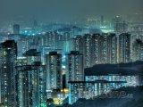Úplněk nad městem