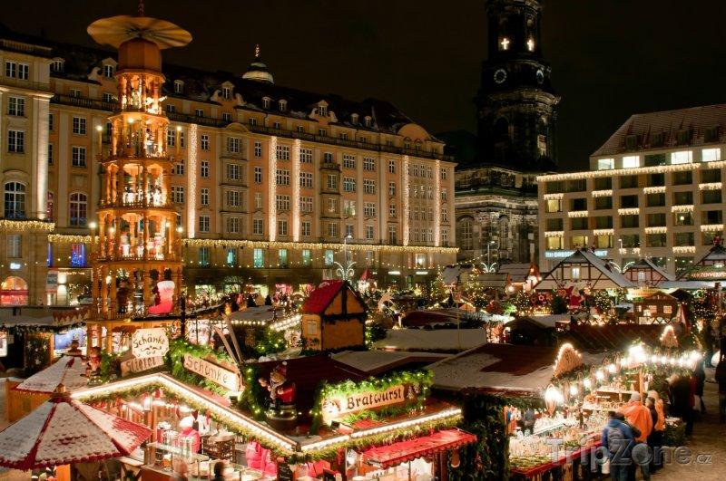 Fotka, Foto Vánoční trhy (Drážďany, Německo)