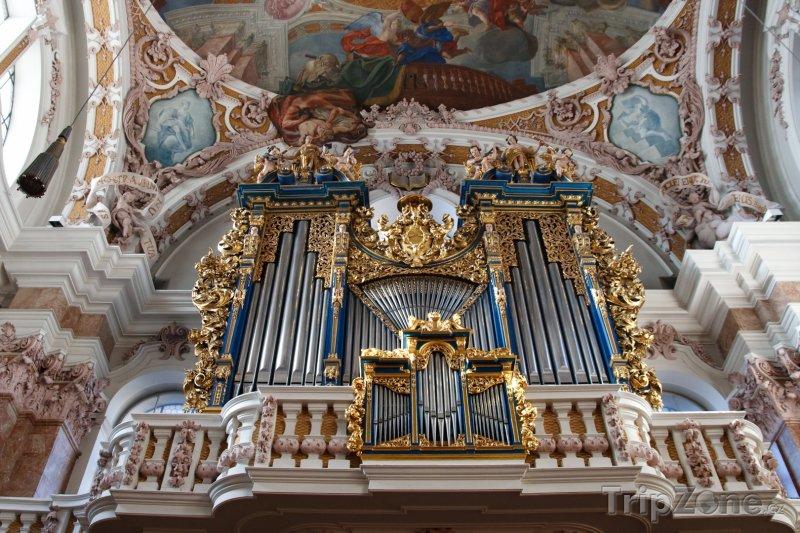 Fotka, Foto Varhany v dómu sv. Jakuba (Innsbruck, Rakousko)