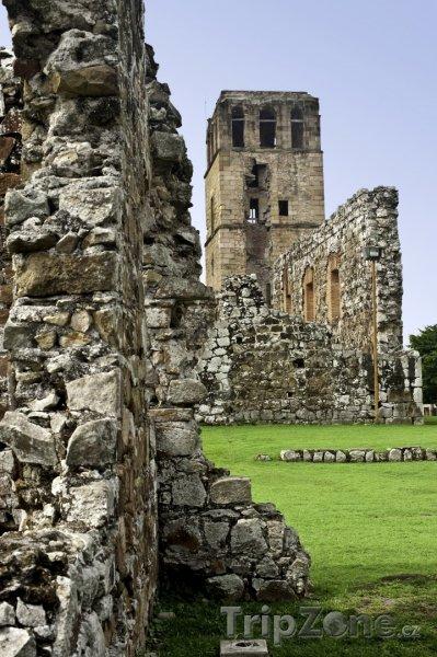 Fotka, Foto Viejo, ruiny staré části Panama City (Panama)