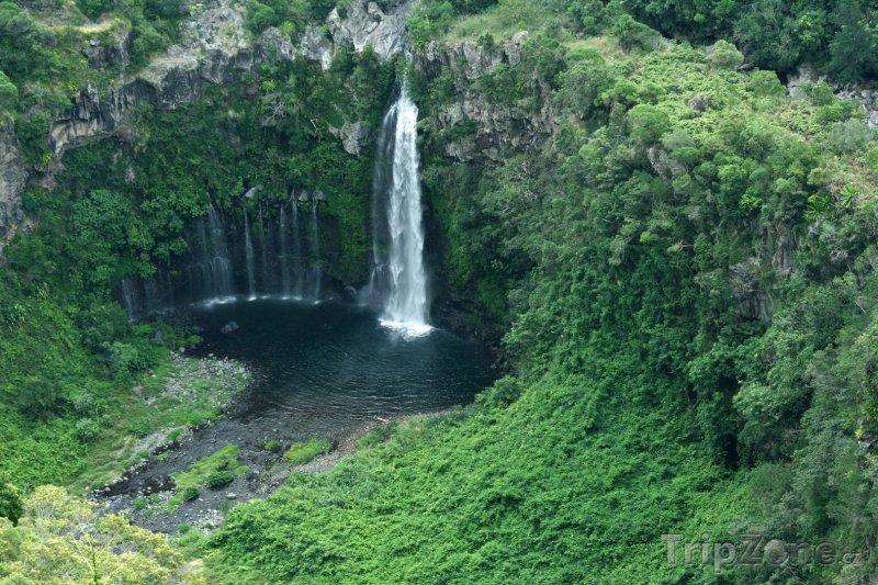 Fotka, Foto Vodopád Cascade du Chien (Réunion)