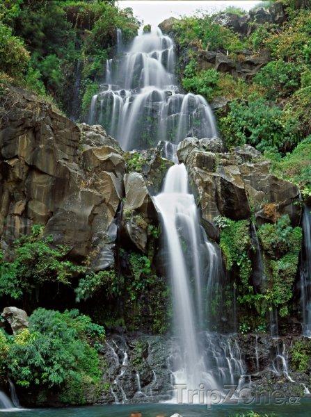 Fotka, Foto Vodopád Cormorans (Réunion)
