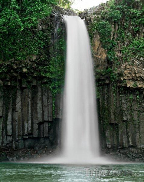 Fotka, Foto Vodopád na ostrově Mindanao (Filipíny)
