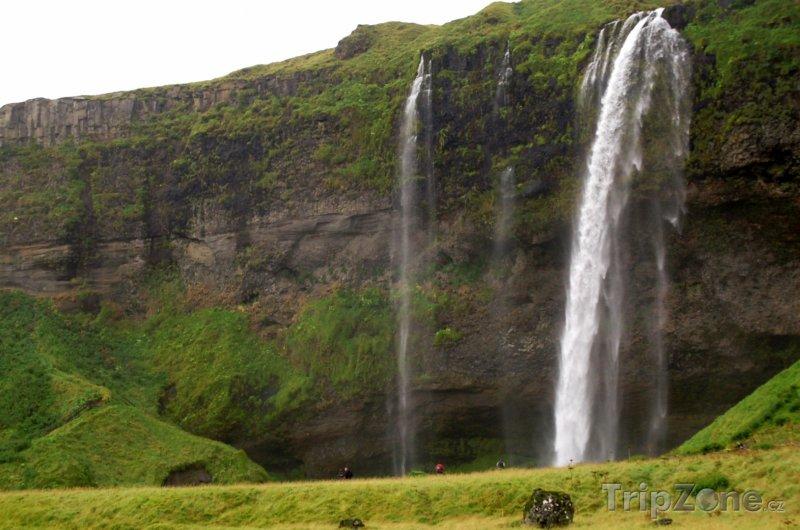 Fotka, Foto Vodopád Seljalandsfoss (Reykjavík, Island)