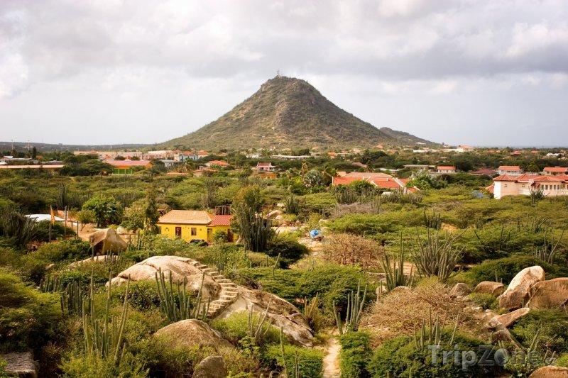 Fotka, Foto Vulkán Hooiberg (Aruba)