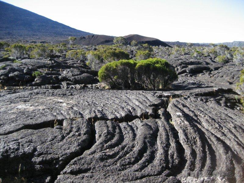 Fotka, Foto Vulkanická krajina (Réunion)