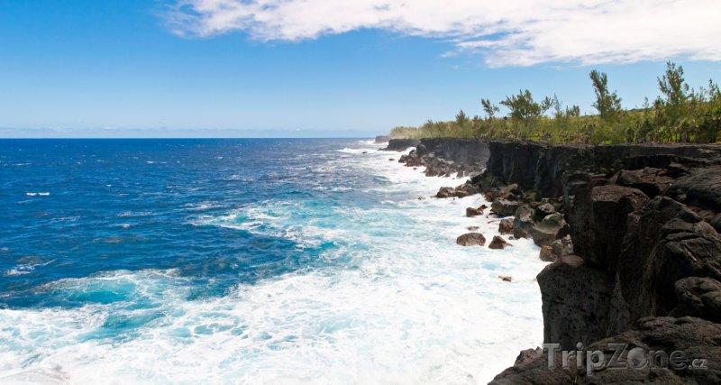 Fotka, Foto Vulkanické pobřeží (Réunion)