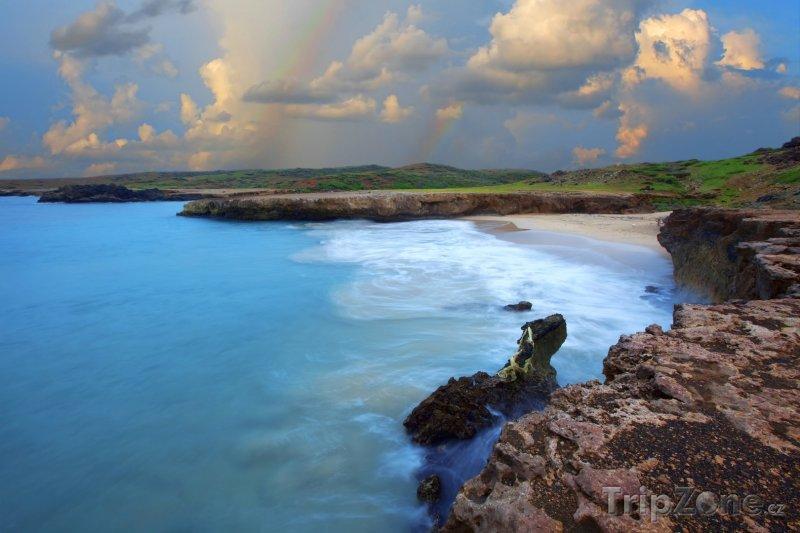 Fotka, Foto Východní pobřeží ostrova (Aruba)