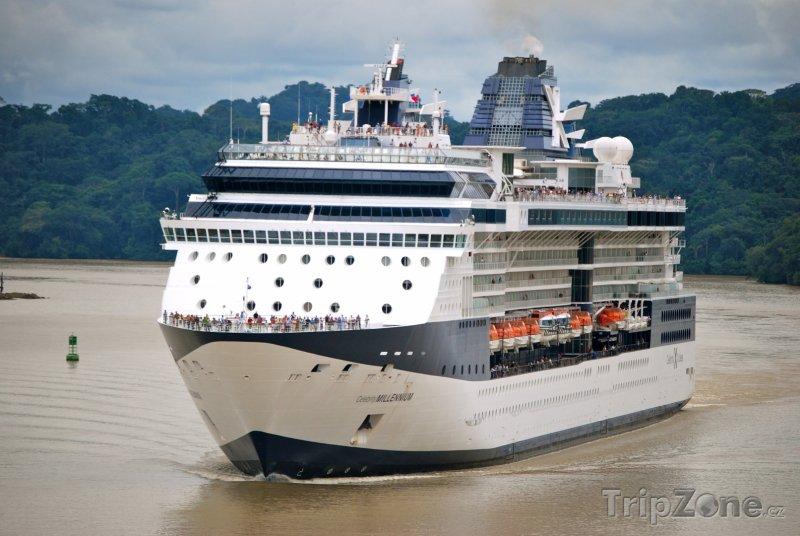 Fotka, Foto Výletní loď (Panama)