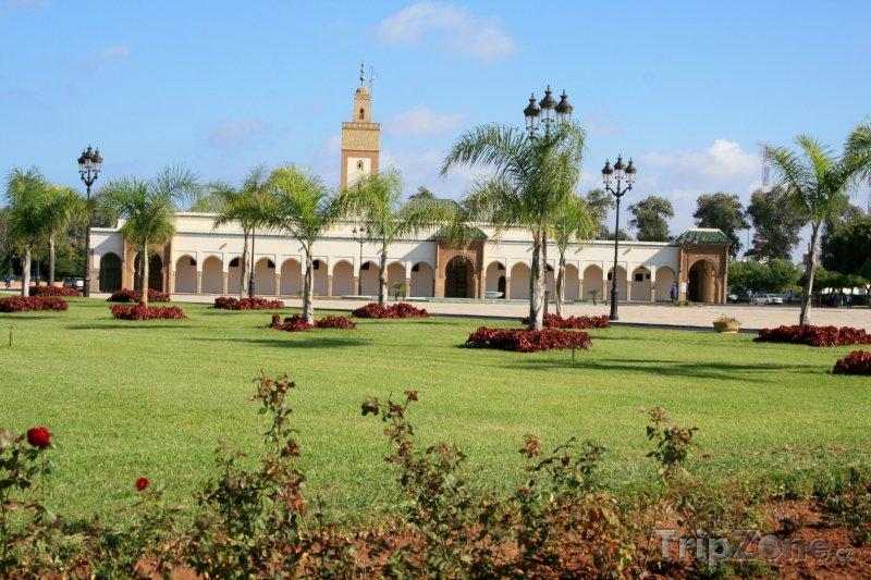 Fotka, Foto Zahrada u Královského paláce (Rabat, Maroko)