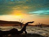 Západ slunce nad Deadvlei