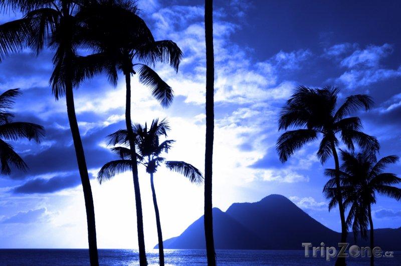 Fotka, Foto Západ slunce (Martinik)