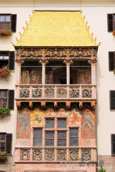 Fotka, Foto Zlatá stříška (Innsbruck, Rakousko)
