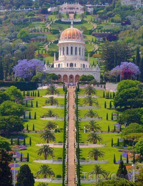 Fotka, Foto Zlatá svatyně Bába (Haifa, Izrael)