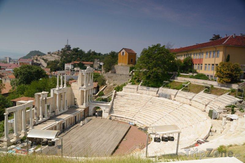 Fotka, Foto Amfiteátr v Plovdivu (Bulharsko)