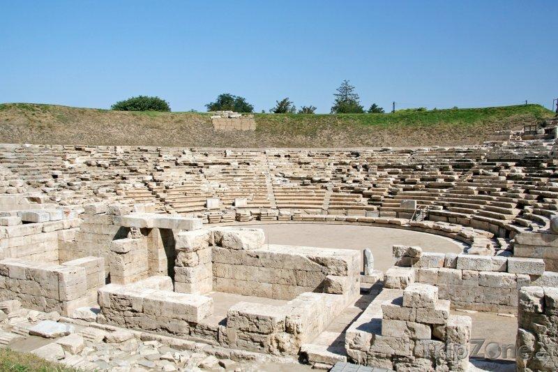 Fotka, Foto Amfiteátr ve městě Larissa (Řecko)