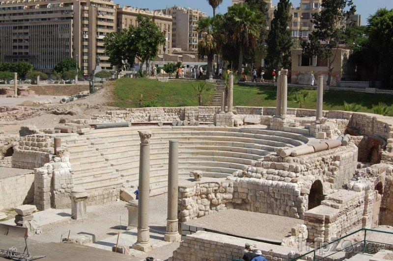 Fotka, Foto Amfiteátr (Alexandrie, Egypt)