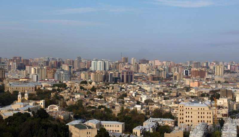 Fotka, Foto Baku panoráma (Ázerbájdžán)