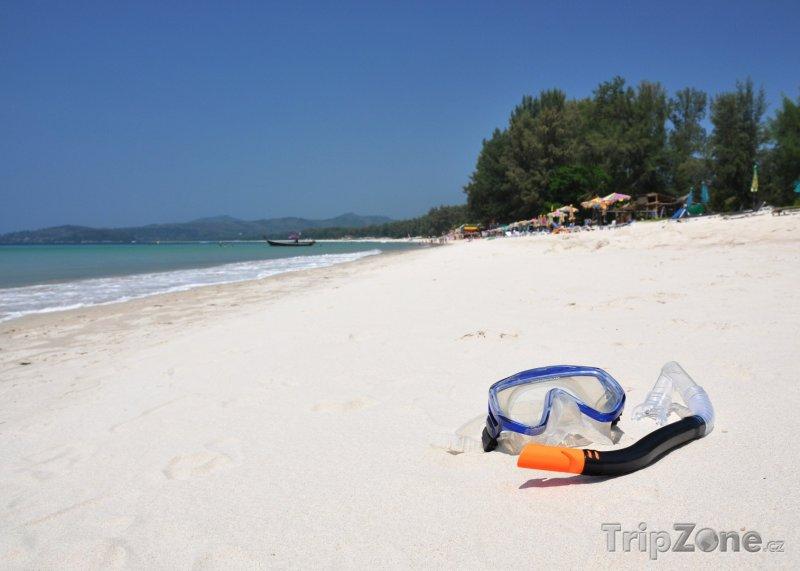 Fotka, Foto Brýle a šnorchl na Bangtao Beach (Phuket, Thajsko)