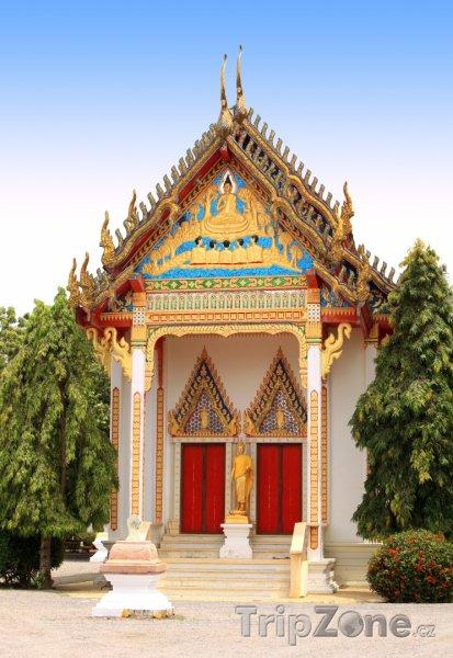Fotka, Foto Buddhistický chrám (Phuket, Thajsko)