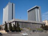 Budova Národního shromáždění v Baku