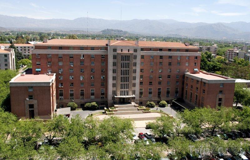 Fotka, Foto Budova soudu v Mendoze (Argentina)