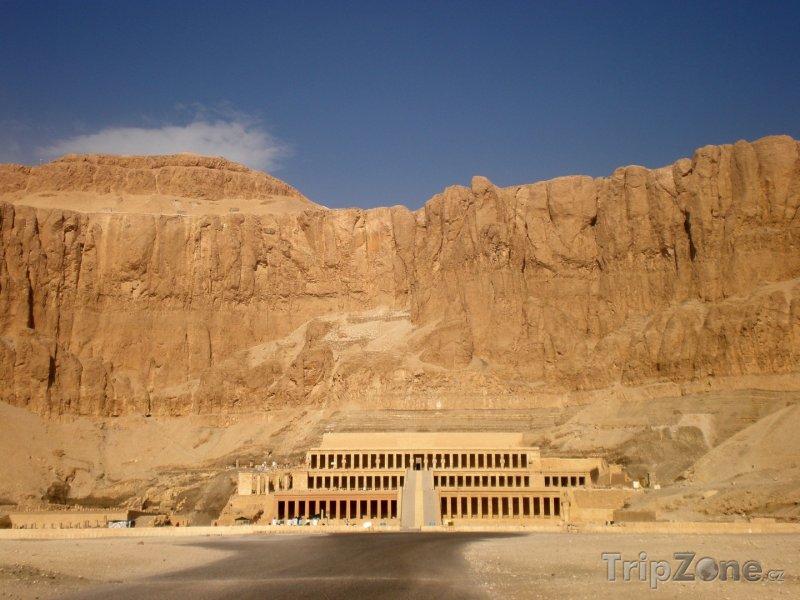 Fotka, Foto Chrám Džeser-Džeseru (Luxor, Egypt)