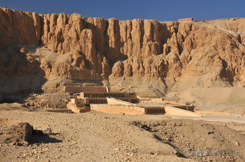 Fotka, Foto Chrám Hatshepsut v Luxoru (Egypt)