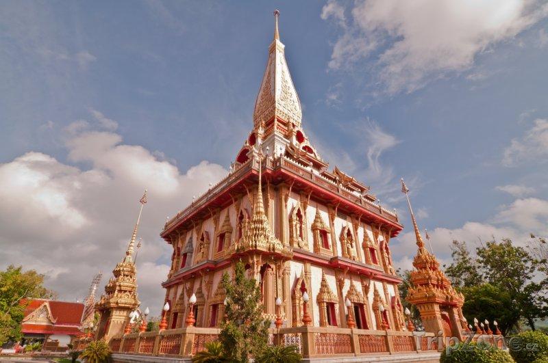 Fotka, Foto Chrám Wat Chalong (Phuket, Thajsko)