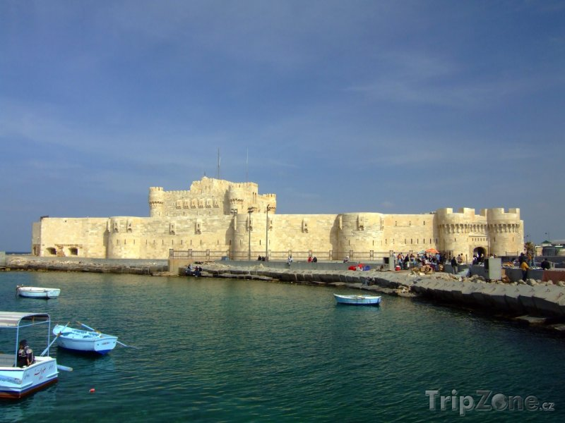Fotka, Foto Citadela Qaitbay (Alexandrie, Egypt)