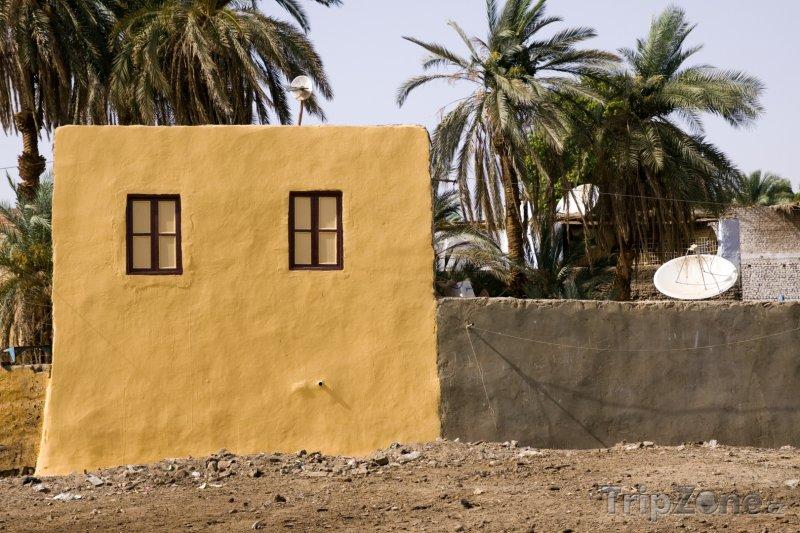 Fotka, Foto Domek v Asuánu (Asuán, Egypt)