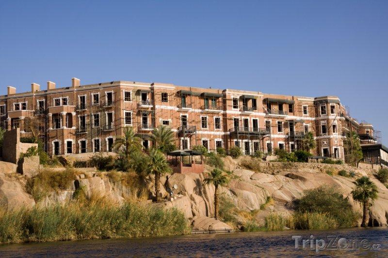 Fotka, Foto Domy na břehu Nilu (Asuán, Egypt)