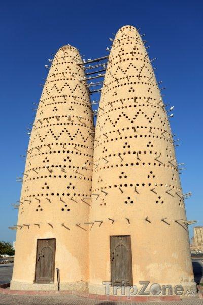 Fotka, Foto Domy pro holuby v Dauhá (Katar)
