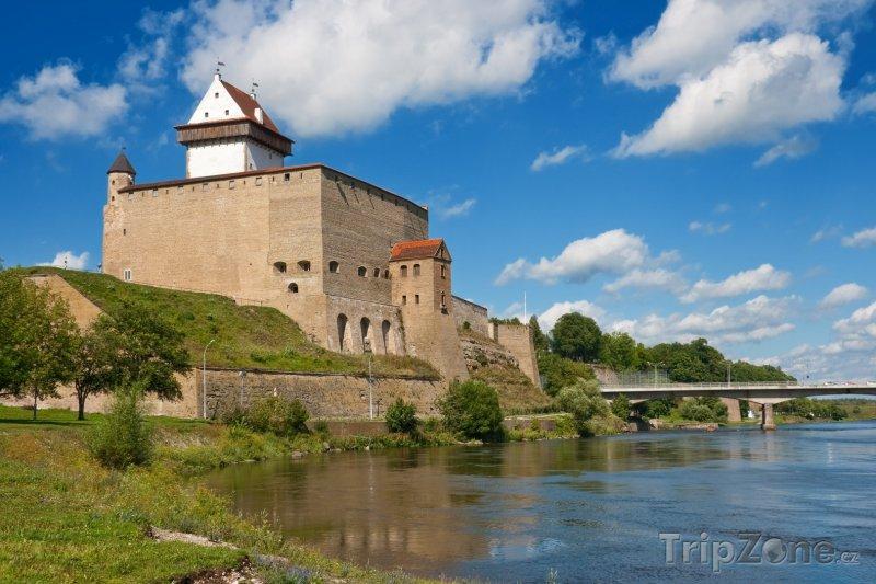 Fotka, Foto Heřmanův hrad v Narvě (Estonsko)