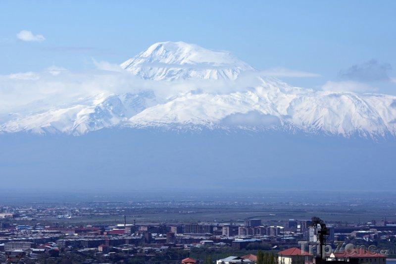 Fotka, Foto Hora Ararat nad Jerevanem (Arménie)