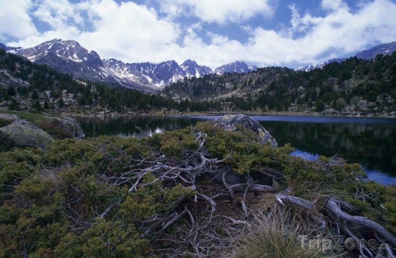 Fotka, Foto Horské jezero (Andorra)