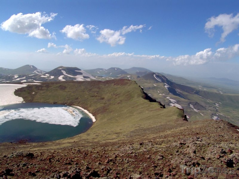 Fotka, Foto Horské jezírko (Arménie)